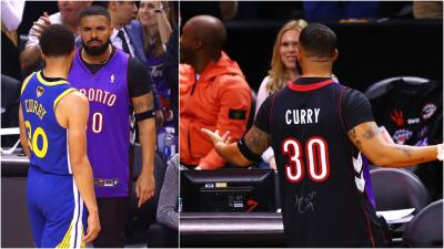 El show de Drake no termina: el rapero volvió dar problemas en la Final de la NBA