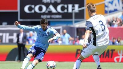 New York City FC reaccionó a tiempo para vencer 2-1 al Philadelphia Union