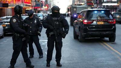 A días de Navidad, Nueva York arrecia seguridad tras explosión en estación de Manhattan