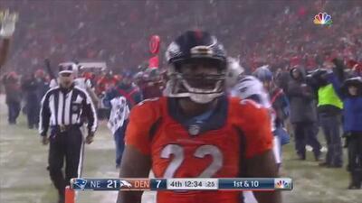 ¡Volvió C.J. Anderson! Espectacular touchdown por carrera contra los Patriots