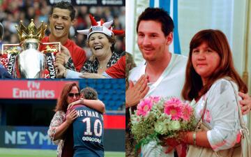 ¡Feliz día de la Madre!: las que brillan en la vida de los cracks del fútbol mundial