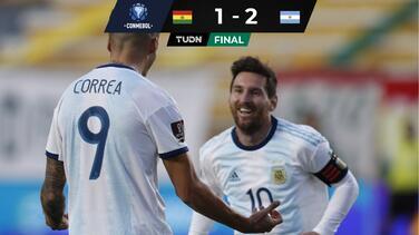 Sin miedo a la altura: Argentina le da la vuelta a Bolivia