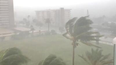 ¿Cuáles serían los riesgos si la tormenta tropical Gordon toca tierra como huracán categoría 1?