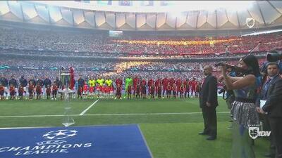 ¡Emocionante! Tottenham y Liverpool saltaron a la cancha para la batalla final