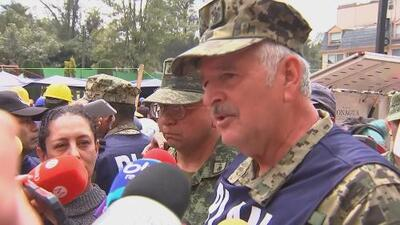 Frida Sofía nunca existió: la Marina mexicana dice ahora que no había una niña bajo los escombros de la escuela Rébsamen