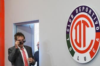 Así fue la presentación de Ricardo La Volpe como nuevo técnico del Toluca