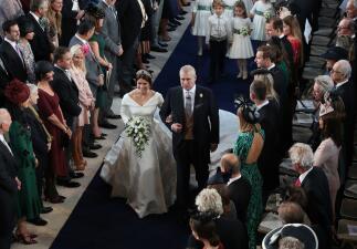 En fotos, la boda de la princesa Eugenie con Jack Brooksbank
