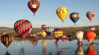 Así es la fiesta más importante de globos aerostáticos en Latinoamérica