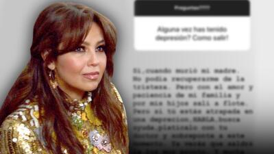 El consejo de Thalía para salir de la depresión (algo que ella padeció en 2011)