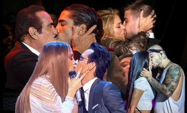 Estos 44 besos de famosos dieron tanto que hablar que merece la pena volver a verlos