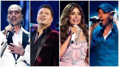 Alejandro Fernández, Banda MS, Gloria Trevi y más artistas celebraron en Las Vegas el 15 de septiembre
