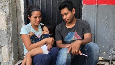 Nicaraguan boy, aged two, struck in throat by bullet, seeks asylum at border