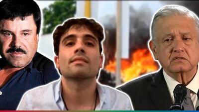 Capturan al hijo del 'Chapo' y luego lo liberan, López Obrador admite que estuvo de acuerdo