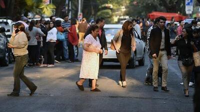 Un sismo de magnitud 7.2 estremece el sur de México y provoca el pánico