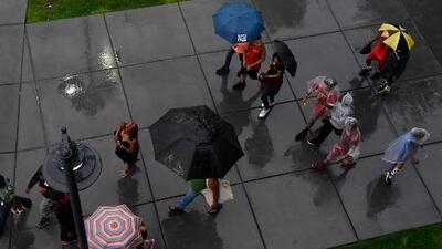 Este fin de semana nos esperan lluvias y baja en temperaturas