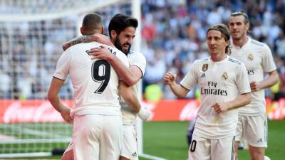 En fotos: Isco y Bale respondieron con goles en el regreso de Zidane al Real Madrid