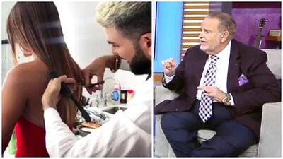 """¿Por qué El Gordo catalogó como """"un desastre"""" el corte de cabello de Jomari Goyso a Clarissa Molina?"""