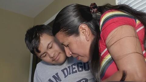 El drama de una familia migrante que tras llegar a EEUU y pedir asilo no tiene un lugar donde vivir