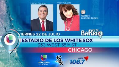 La gira de En Tu Barrio llega al estadio de los White Sox