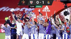 Real Sociedad conquista su tercer título de la Copa del Rey