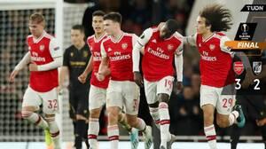 Nicolas Pépé evita nuevo ridículo de Unai Emery y Arsenal