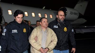 'El Chapo' Guzmán será juzgado por un jurado anónimo protegido por agentes federales