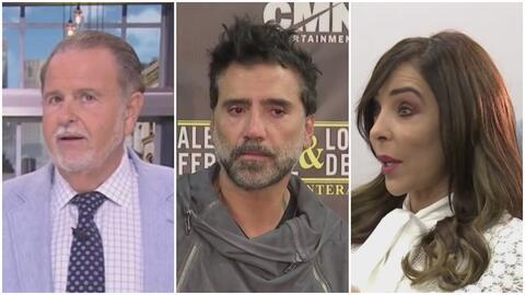 A Raúl no le gustó la pregunta que Gelena le hizo a Alejandro Fernández sobre el escándalo del avión