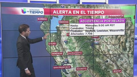 Sacramento tendrá un miércoles libre de lluvia