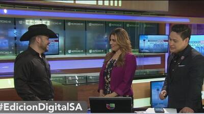 Michael Salgado promueve su nuevo disco en San Antonio