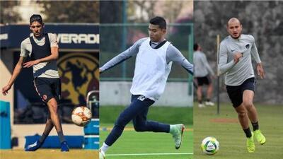 América, Cruz Azul y Pumas volvieron a los entrenamientos para el C2019