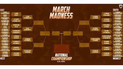 El March Madness entra a sus fases críticas con el Sweet 16