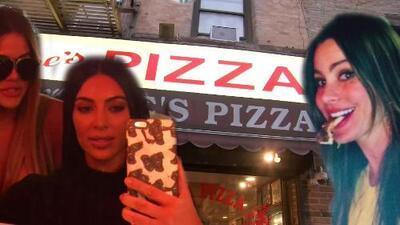Conoce la pizzería que Kim Kardashian, Sofía Vergara y más famosos aman visitar en Nueva York