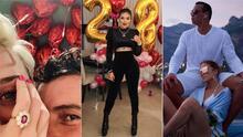 Con amor, de cumpleaños y hasta con anillo de compromiso: así fue el San Valentín de algunos famosos