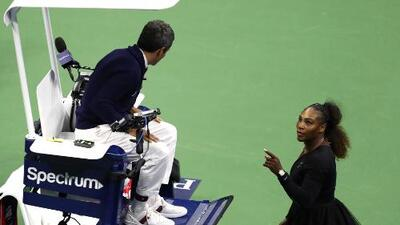 Te contamos por qué se originó el escándalo entre Serena y el juez de silla en la final del US Open