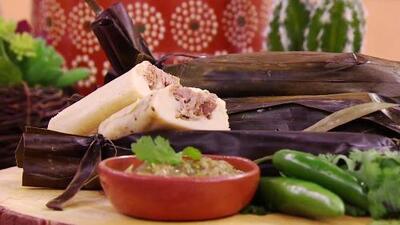 Receta de tamales de carnitas con el tip secreto del Chef Yisus para que queden suaves y jugosos