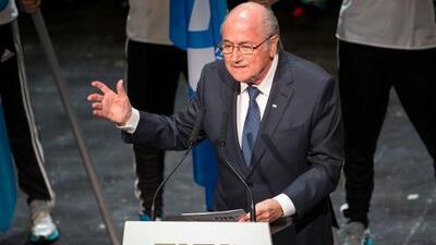 """Blatter: """"No hay lugar para la corrupción de ningún tipo"""""""