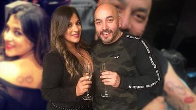 Lupillo Rivera se tatuó con su novia y lo hizo en el mismo brazo donde tenía el tatuaje de su ex Mayeli Alonso