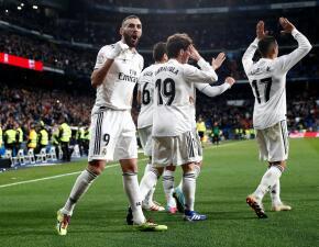 En fotos: Real Madrid suera 4-2 al Girona en la Ida de Cuartos en la Copa del Rey