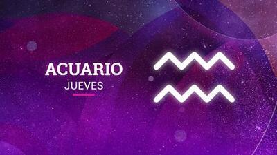 Acuario – Jueves 18 de octubre de 2018: descubres interés donde menos pensabas