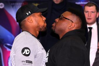 Dice Anthony Joshua que 'le arrancará el alma' a Jarrell Miller en su pelea de junio