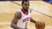 Publican video de Sterling Brown, jugador de los Houston Rockets, cubierto de sangre tras sufrir ataque en Miami