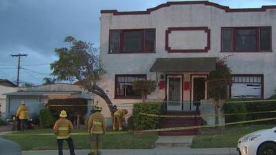Investigan la fuerte explosión de gas que estremeció un vecindario en San Pedro