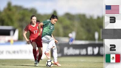 Team USA Femenil le pegó al Tri en final del campeonato Sub-17 de Concacaf