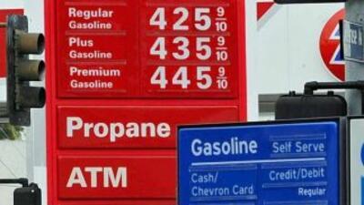 La gasolina subió 12 centavos en dos semanas