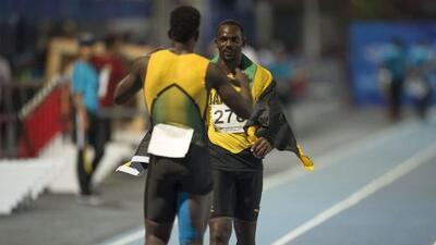 Jamaica domina en los 100 m planos con Nesta Carter y Jonielle Smith