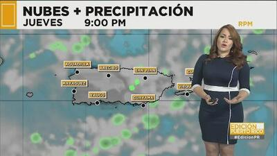 Puerto Rico tendrá un jueves y viernes lluviosos