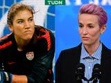 Hope Solo culpa a Megan Rapinoe por la no igualdad salarial en Team USA