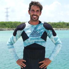 Pedro Prieto adquirió una bacteria en una de sus piernas durante la competencia en Reto 4 elementos