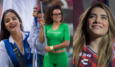 Las porristas abren la Jornada 8 con su alegría en los estadios de México