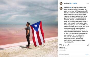 Estos son los cantantes que piden la renuncia del gobernador de Puerto Rico